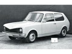 1974 Volkswagen / VW Golf Mk1 Early prototype