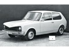 OG | 1974 Volkswagen / VW Golf Mk1 - EA 235a | Early prototype dated 1967
