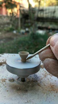 Ceramic Pottery, Pottery Art, Tortus Copenhagen, Minis, Electric Pottery Wheel, Clay Monsters, Pottery Videos, Mini Bonsai, Mechanical Art