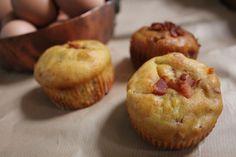 Matmuffins med egg & bacon