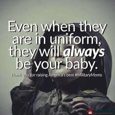 Military Mom 😭😭😭 I miss my baby. I can't wait to see or even speak with him again. Army Mom Quotes, Son Quotes, Military Family Quotes, Missing My Soldier, Marine Mom, Marine Corps, Military Mom, Military Party, Army Party