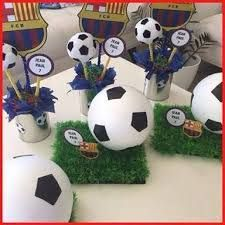 Resultado de imagen de tutorial mesa dulce futbol Soccer Theme Parties, Soccer Party, Sports Party, Party Themes, Birthday Parties, Neymar Birthday, Football Birthday, Soccer Centerpieces, Soccer Baby Showers