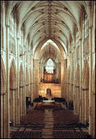 Ever since I first walked into this church at 14, I've wanted to get married here. (York Minster)