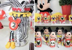 Mickey Mouse Birthday Party - there are heaps of great ideas from this party, some DIY too