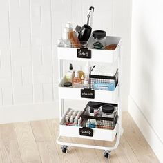 Bathroom storage is a location of the home we constantly require to work on. Then you'll need to see these 30 bathroom storage ideas. Bathroom Cart, Bathroom Ideas, Bathroom Makeovers, Storage Ideas For Bathroom, Bathroom Mirrors, Bathroom Makeup Storage, Simple Bathroom, Makeup Storage For Small Spaces, Organize Small Spaces