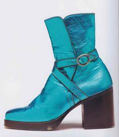 1973 David Bowie boots designed by Freddie Burretti