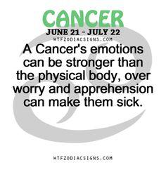 Cancerian woman body