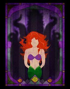 Hero and Shadow Villain Ariel