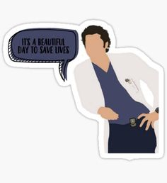 Greys Anatomy stickers featuring millions of original designs created by independent artists. Tumblr Stickers, Cool Stickers, Printable Stickers, Laptop Stickers, Greys Anatomy Frases, Grey Anatomy Quotes, Snapchat Stickers, Meredith Grey, Aesthetic Stickers