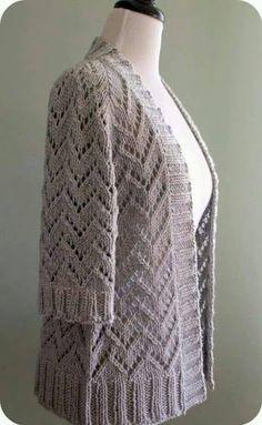 Galería: Modelos de Blusas y Chaquetas Tejidas   CTejidas [Crochet y Dos Agujas]