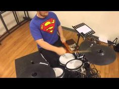Back in Black - Drum Cover - AcDc (GoPro Sound) - YouTube