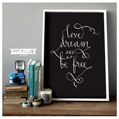 love dream and be free