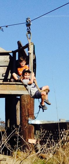 """Call of the Wild: Do Our Overprotected Kids Need to """"Get Risky"""" on Playgrounds Like This? 