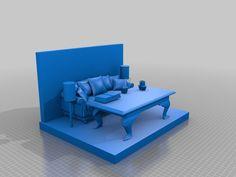 lounge room model by lokilaufeysen - Thingiverse