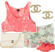 """""""Summer"""" by nenedopesauce ❤ liked on Polyvore"""