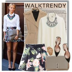 Walktrendy spring skirt by anne-mclayne on Polyvore featuring Uniqlo, Theory, Tabitha Simmons, Proenza Schouler, BaubleBar, Michael Kors and walktrendy