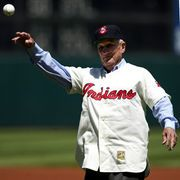 Al Rosen played 10 years in the big leagues, all with the Indians. He won the AL MVP award in 1953 and was a four-time All-Star.