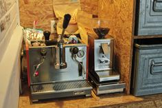 Da ist Kaffee noch Handarbeit: Meine Olympia Express Club