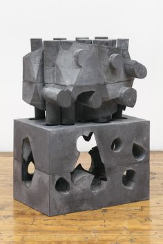 davidnolangallery: Mel KendrickPig 2013 pigmented pre-cast concrete 35 x 24 x 16 in (88.9 x 61 x 40.6 cm) David Nolan Gallery 527 West 29th Street New York, NY 10001
