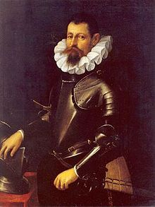 Cesare d'Este (1561 – December 11, 1628) was Duke of Modena and Reggio from 1597 until his death. During his reign, in 1598, the House of Este lost the Duchy of Ferrara. Married Virginia de' Medici. Succeeded by his son, Alfonso III.
