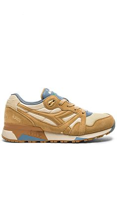 6031c1ea9f95 Diadora N9000 NYL in Beige Sheep Sports Footwear