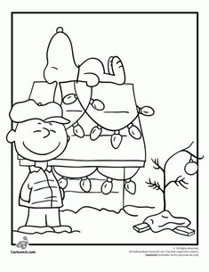 Printable Charlie Brown Christmas Coloring Pages. Charlie Brown Christmas Coloring Pages collection. See the gallery below and chose your image. You could click Snoopy Christmas, Preschool Christmas, Noel Christmas, Christmas Activities, Christmas Printables, Christmas Colors, Christmas Crafts, Xmas, Charlie Brown Christmas Decorations