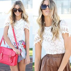 Actually in love with this lace top, available now! Www.saboskirt.com #saboskirt (via #spinpicks)