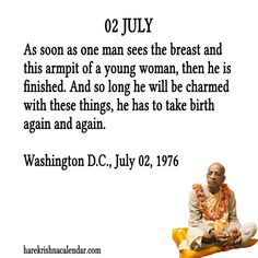 july month quotes prabhupada - Google Search