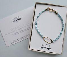 Gold hexagon charm bracelet  Geometric bracelet with by shopLUCA, $29.00