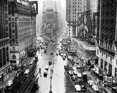 Times Square, NYC, 1935