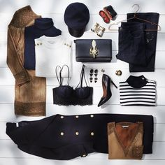 """""""Navy deluxe! ⚓️ #HM❤️ #details"""""""
