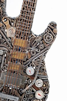 "Heavy Metal Guitar, talk about ""HEAVY METAL"" - Design by Brian Mock"