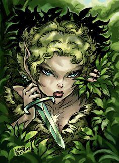 Dewshine from ElfQuest by Wendy Pini