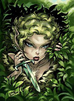 Dewshine from ElfQuest by Wendy Pini