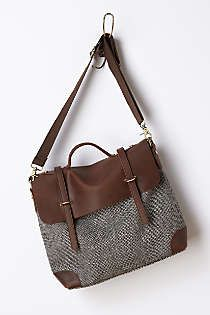 Anthropologie - Midland Tweed Satchel