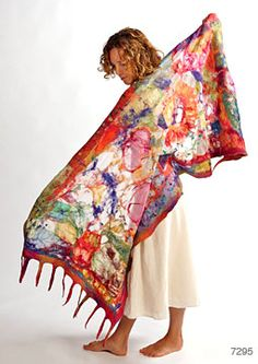 Shawls and Scarves: Art You Wear