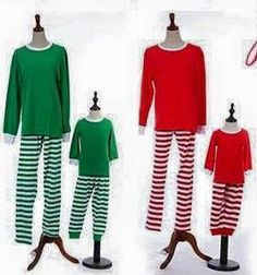 4e93b90fb7 Personalize these adorable striped holiday pajamas for the entire family.  Christmas morning will be picture perfect! Available in   Sizes  Adult S-Xl  ...
