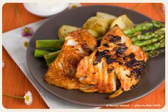 A stunning, and spicy, preparation of a firm, flaky, tasty fish.