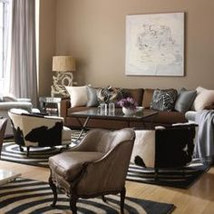 Neutral Living Room Color luxury brown living room color schemes | living room colors