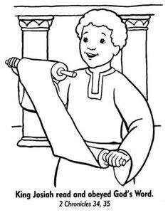 King josiah bible coloring pages Sunday School Activities, Bible Activities, Sunday School Lessons, Sunday School Crafts, Preschool Bible, Bible Story Crafts, Bible Crafts For Kids, Bible Lessons For Kids, Kids Bible
