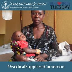 @breadandwaterforafrica posted to Instagram: Today is #GivingTuesday!  The goal:  $20,000 in medical supplies for our clinic in Cameroon. You can support #medicalsSupplies4Cameroon today by using the link in the bio give !  #bwa #africa #breadandwaterforafrica #orphans #community #children #givingtuesday #Cameroon #health #charity