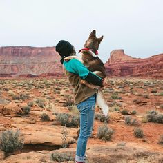 I can't wait to travel the world wit my dog Photo by @kuma_thehuskybear #coffeenmtns #americannomad