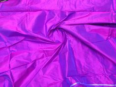 Dark Violet Mulberry Silk Fabric Iridescent Dark Pink/100% pure silk fabric, plain silk fabric made with handloom, Fabric by the yard. by TheSLVSilks on Etsy Dupioni Silk Fabric, Raw Silk Fabric, How To Dye Fabric, Cool Fabric, Scarf Curtains, Natural Protein, Silk Bedding, Green Silk, Mulberry Silk