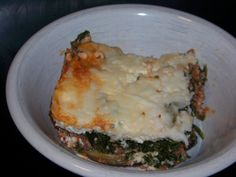 No Noodle Spinach Meat Lasagna / #lowcarb shared on https://facebook.com/lowcarbzen