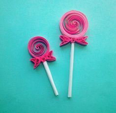 Caramelos de filigrana #filigrana #Quilling #Sweet #Candy 》CatCraft《