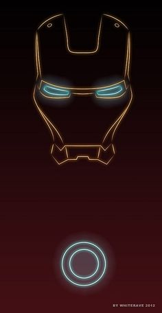 Neon superhero posters by WhiteRave
