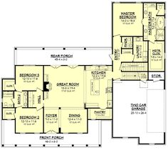 Manor Farm House Plan – House Plan Zone