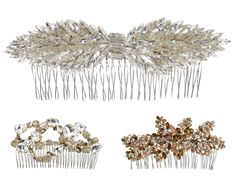 Jenny Packham Accessories 2014 ✈ Bridal Hair Combs