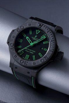 starting to men s watches quite interesting fashion hublot big bang king 44mm in green water resistant to 300m basel 2011 watch · style fashionmen fashioncool watchesmen s