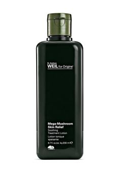 Origins Mega-Mushroom Soothing Treatment Lotion, along with all six other products in the Skin Relief line, now contains sea buckthorn berry, which can help protect skin from environmental stress.